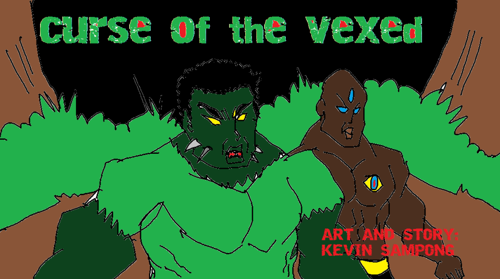 curse of the vexed COVER