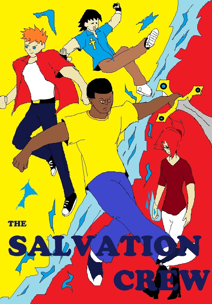 SALVATION CREW 1 COVER