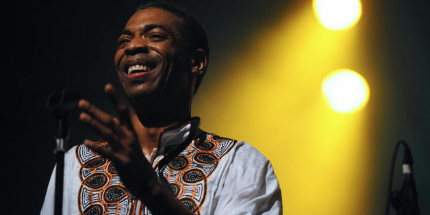 Nigerian musician Femi Kuti performs on